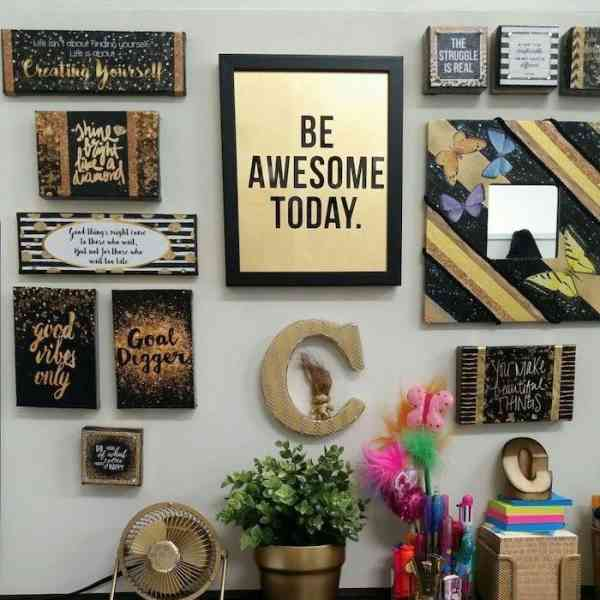 Are you looking for ways to spruce up your cubicle decor – here are 70+ ideas