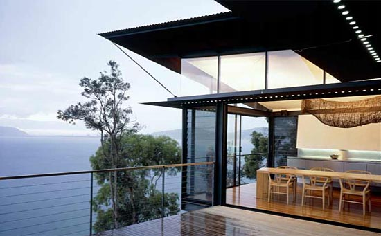 James Robertson House by Casey Brown Architecture