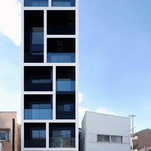 Apartment building in Katayama by Mitsutomo Matsunami