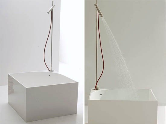 """Tub"" Bathtub Shower Combination by NIC Design"