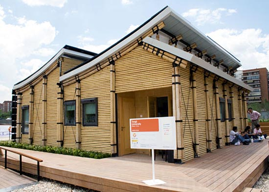 Bambu House at European Solar Decathlon