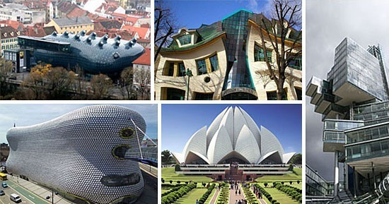 Strangest buildings in the world (with info)
