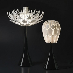 Bloom lamp by Patrick Jouin