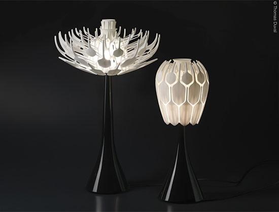 Bloom lamp by Patrick Jouin
