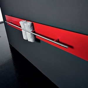 Teso towel warmer by Antrax