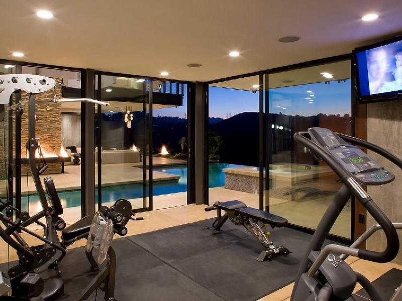 Luxury Home Fitness Gym