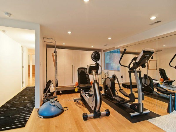 fitness room at home