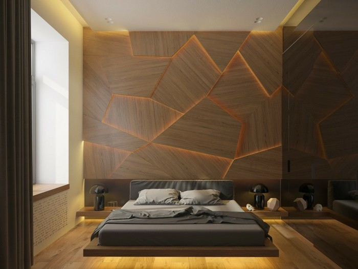 bedroom-design-with-leght-led-strip
