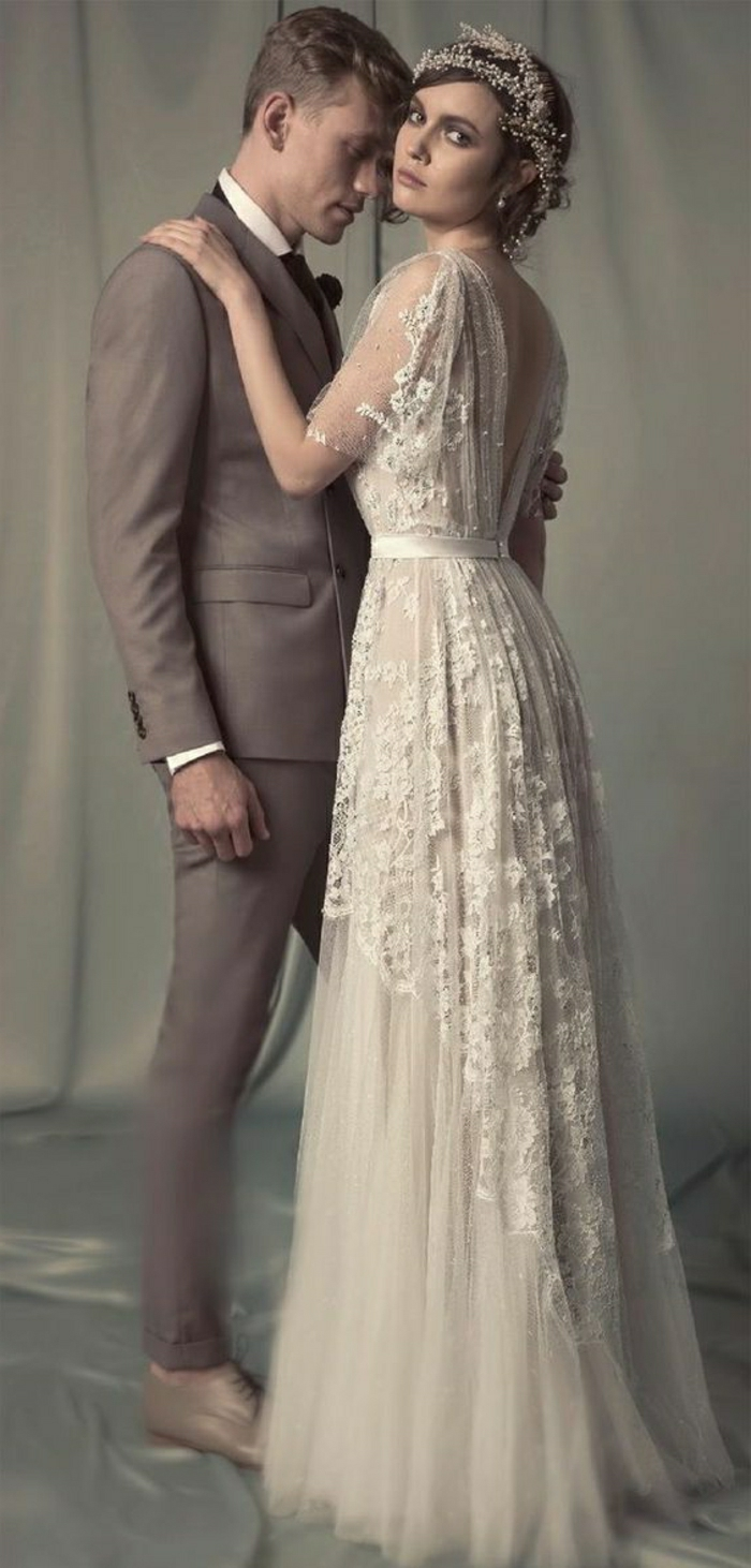 60+ Vintage Wedding Dresses to Fall in Love With | Architecture ...