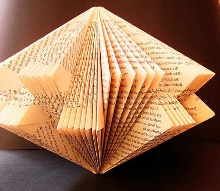 Image result for book with cut up pages""