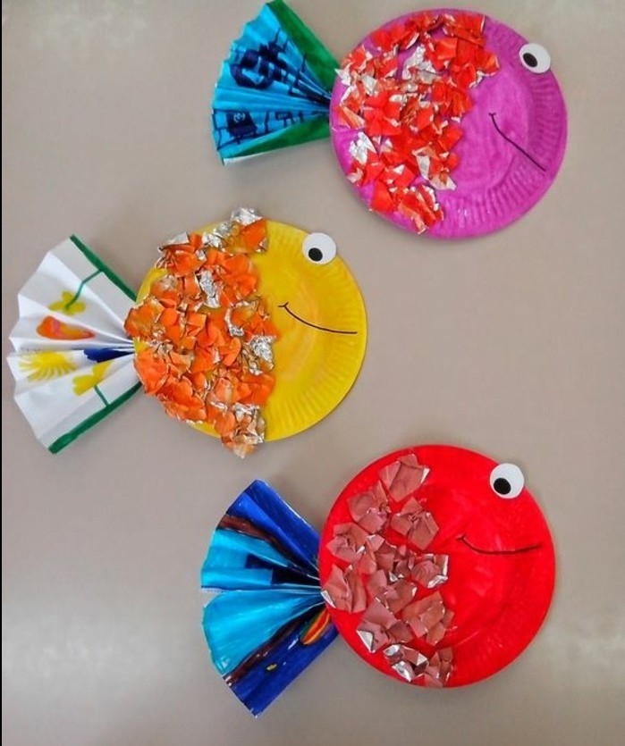 Crafts for Kindergarten Kids \u2013 77 Cute and Very Creative Ideas ... & ▷1001 + Ideas for DIY Art Projects to Try With Your Kids