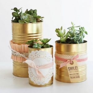 Crafts With Tin Cans - 61 Great Ideas