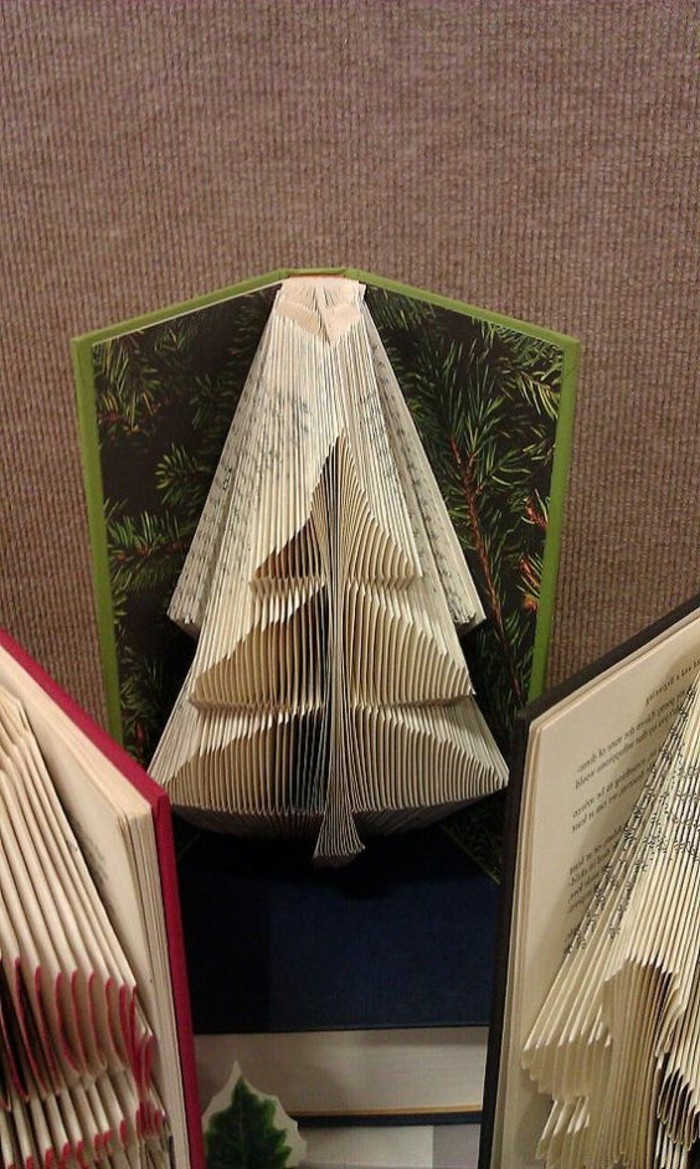 How To Make A Book Cover Art : Ideas for folded book art including photos and