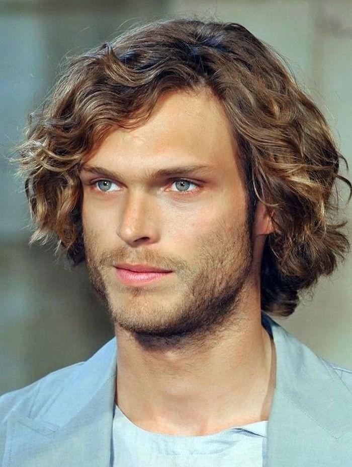 1001 Ideas For Styling Mid Length Hair For Men