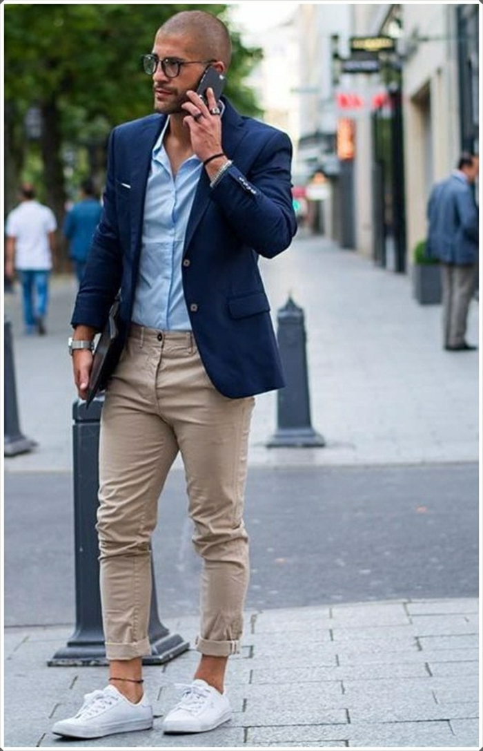 Beige Shoe Outfits Men