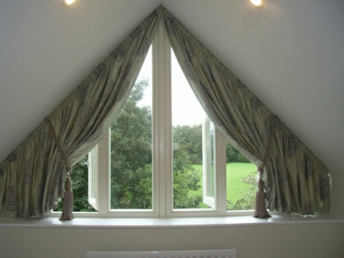 Attic Window Curtains Ideas And Solutions To Inspire You Decoration