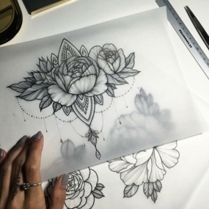 Flower Tattoos - How to Choose One and What is Their Meaning?