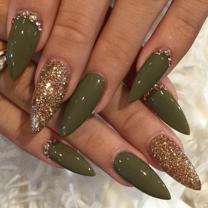 130 Ideas For Pointy Nails Here Size Really Matters