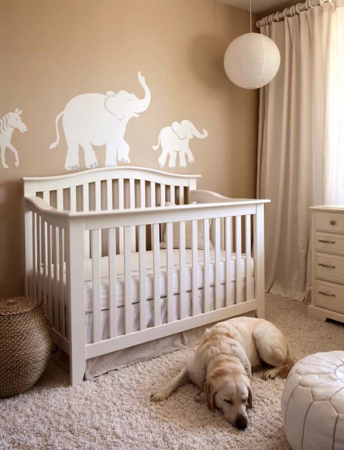 1001 ideas for original and creative baby nursery ideas. Black Bedroom Furniture Sets. Home Design Ideas