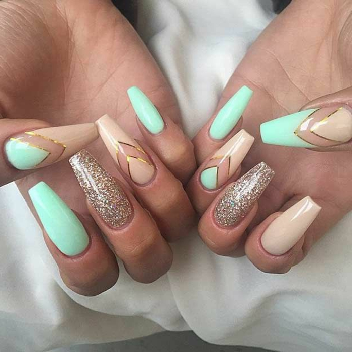 ▷1001 + Ideas for Pointy Nails - Design and Inspiration