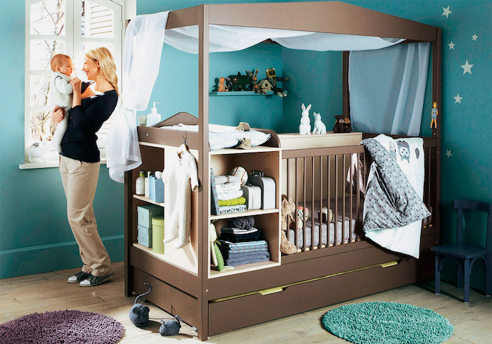 ideas  original  creative baby nursery ideas