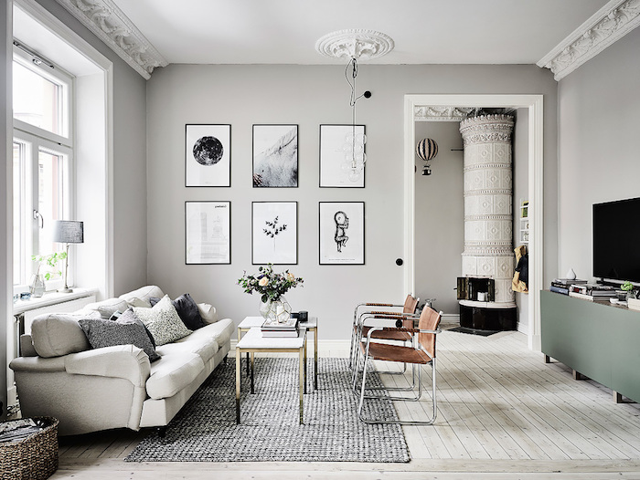 Off White Walls Grey Carpet living room paint colors, pale grey walls, light beige laminate floor, off-