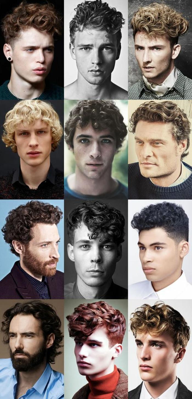 Medium Length Haircuts For Men Curly Hair 84