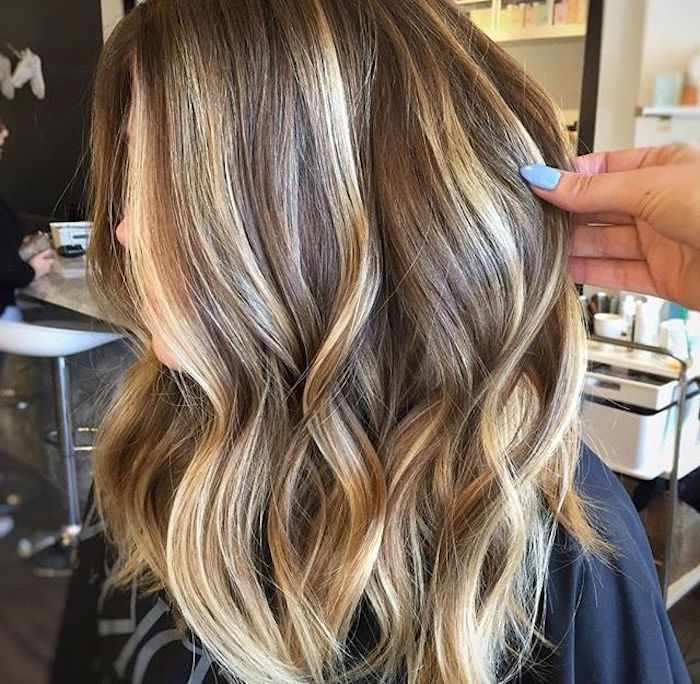 40a922be123b5a 70 + Awesome Styles For Brown Hair With Blonde Highlights or Balayage ...