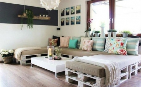 Ideas For Making A Cool Pallet Couch