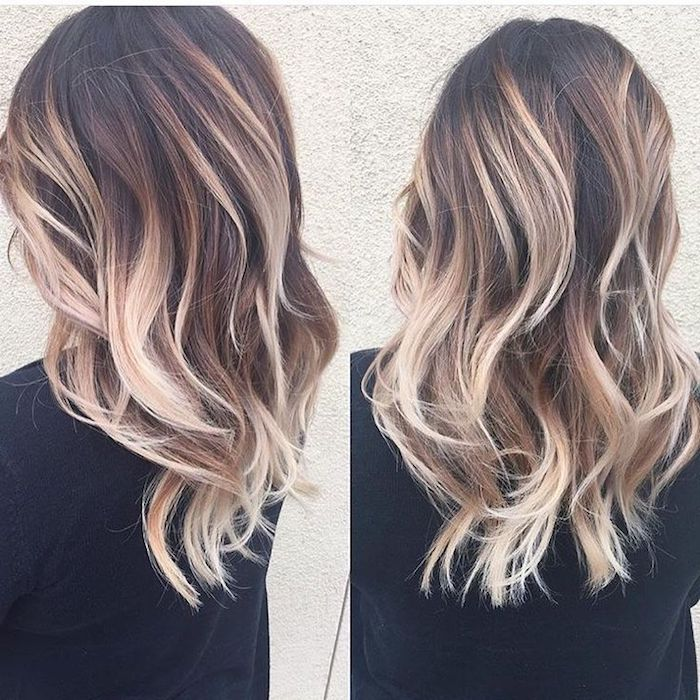 Platinum Blonde Balayage Hair Color Idea: 1001 + Ideas For Brown Hair With Blonde Highlights Or Balayage