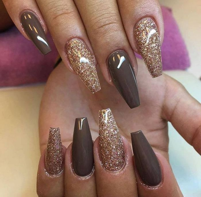 100 + Styles for Coffin Shaped Nails to Rock This Summer ... - ▷1001 + Ideas For Coffin Shaped Nails To Rock This Summer