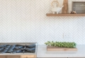 85 Stylish Herringbone, Arabesque, Mosaic and Subway Tile Kitchen Backsplash Designs to Brighten Up Your Home