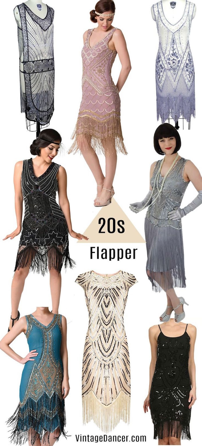 a7cac48338080 Ain't No Party Like a Roaring 20s Party – 80 Great Gatsby Outfits that are  the Bee's Knees!