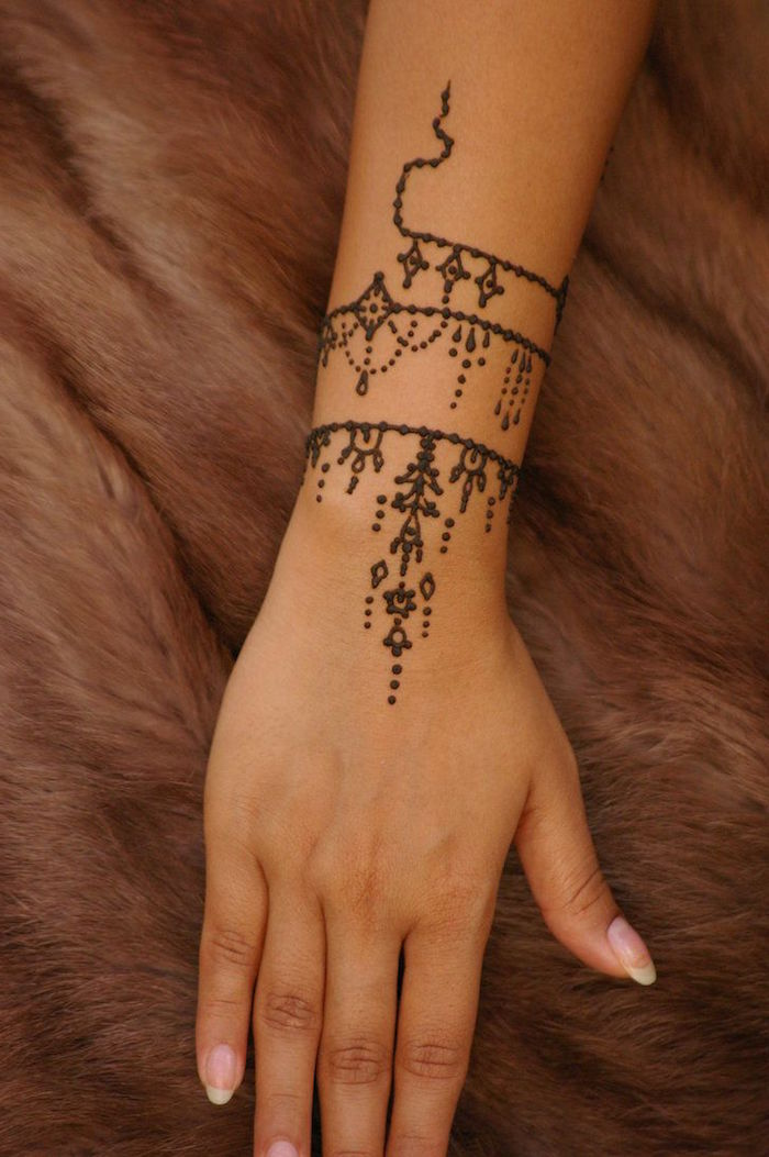Henna Armband Tattoo: The Gorgeous Indian Henna Tattoo Art