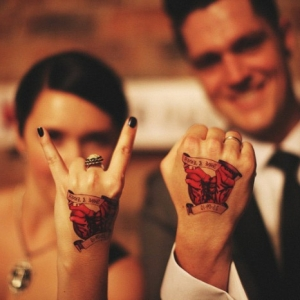 Inked Together - 80 Charming Matching Tattoos for Couples, Siblings, and Friends