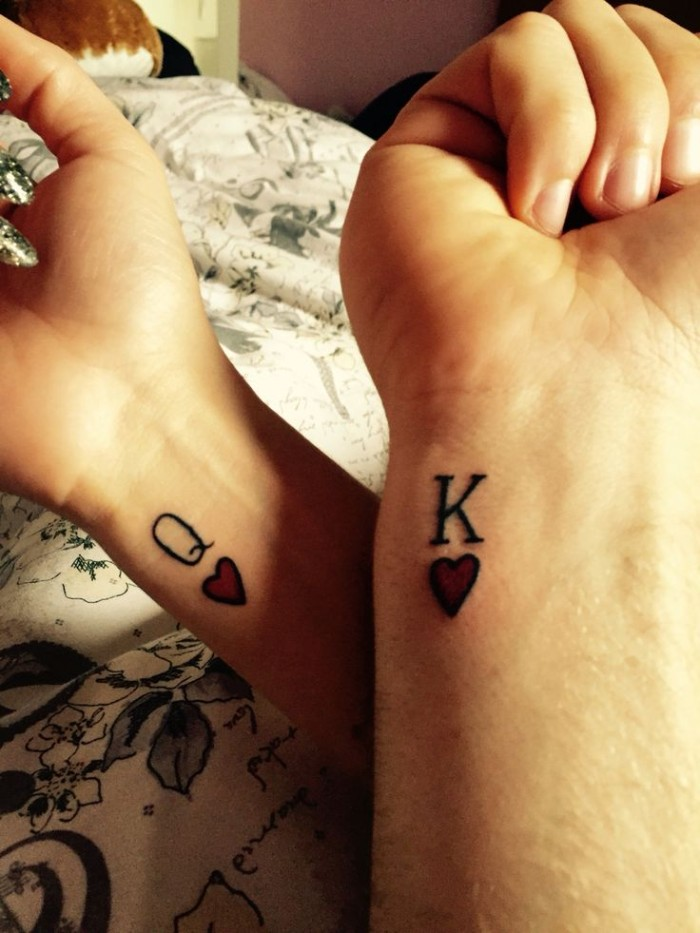 1001 Ideas For Couples Siblings And Friends Matching Tattoos