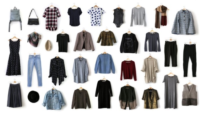 staples for every woman's closet, plain t-shirts and sweaters, blouses and shirts, blazers and cardigans, dresses and trousers, jackets and accessories