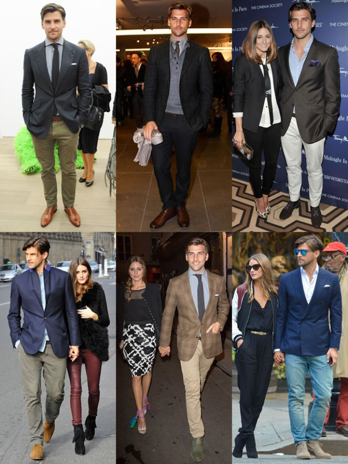 suggestions for semi-formal attire, navy and black, brown and checkered blazers, pale shirts and jumpers, cream and khaki, grey and black trousers, and blue jeans, what is semi formal attire for guys