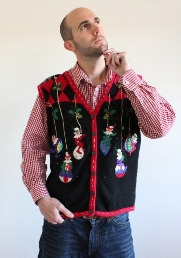 57ccaf0195 80 + Ugly Christmas Sweater Ideas For a Funnier (and Weirder) Party Season  ...