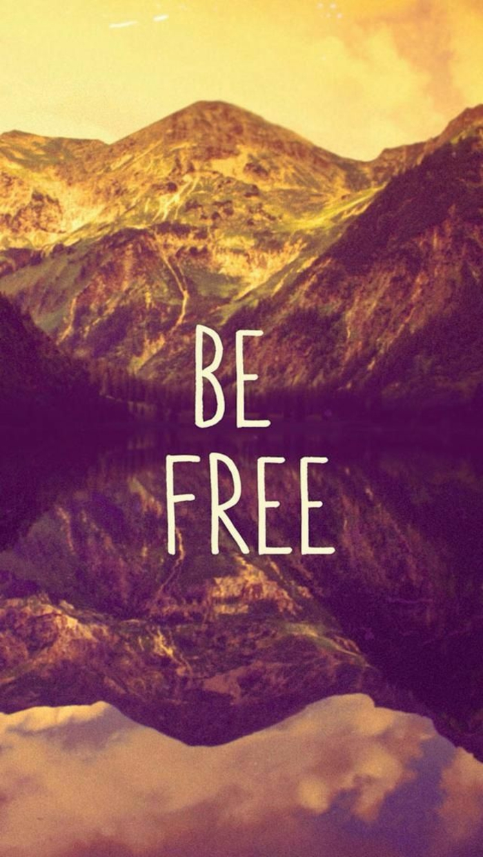be free, mountains around a lake, cute iphone wallpapers, lots of trees