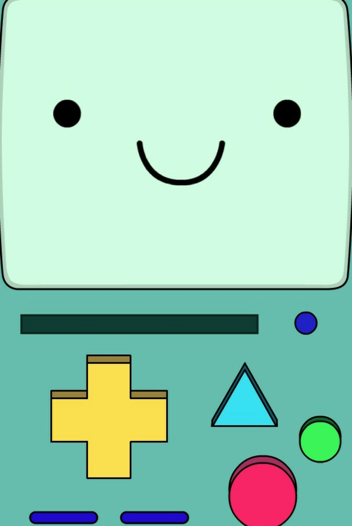 gameboy drawing, cute iphone backgrounds, colourful controllers, smiley face