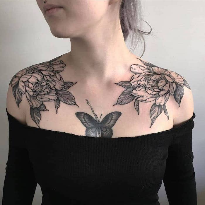 Middle Chest Tattoo: 1001 + Ideas For Beautiful Chest Tattoos For Women
