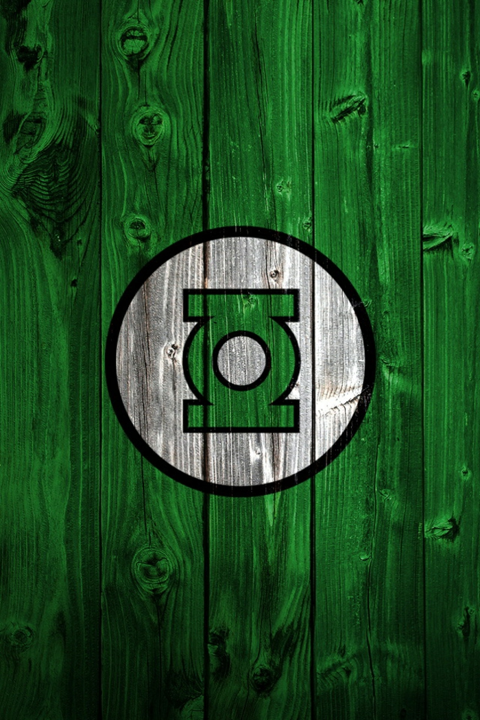 green lantern symbol, green background, pink iphone wallpaper