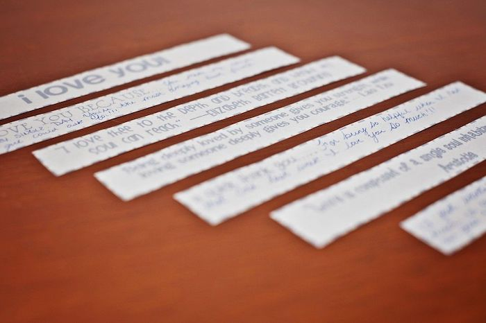 messages written on a piece of paper, creative valentine's day gifts for boyfriend