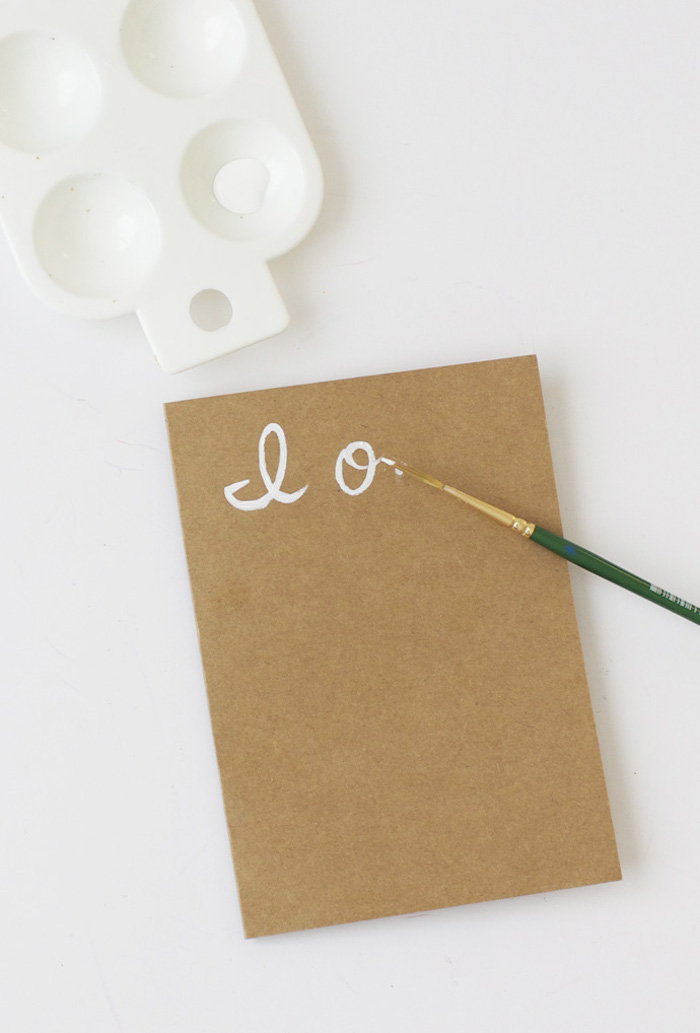 white color palette, cardboard box, white paint, green paint brush, valentine's day gifts for boyfriend