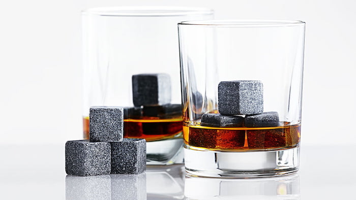 whiskey stones, use instead of ice, whiskey glasses, diy gifts for boyfriend