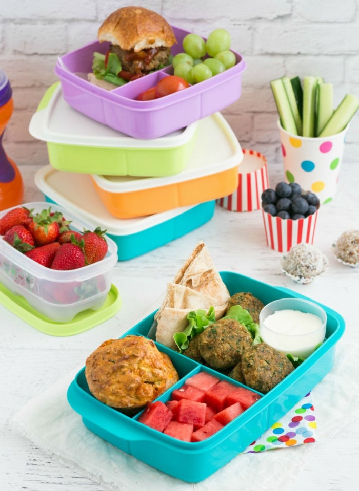 colourful lunch boxes, meal prep plan, what should i eat for lunch, different meals for each day