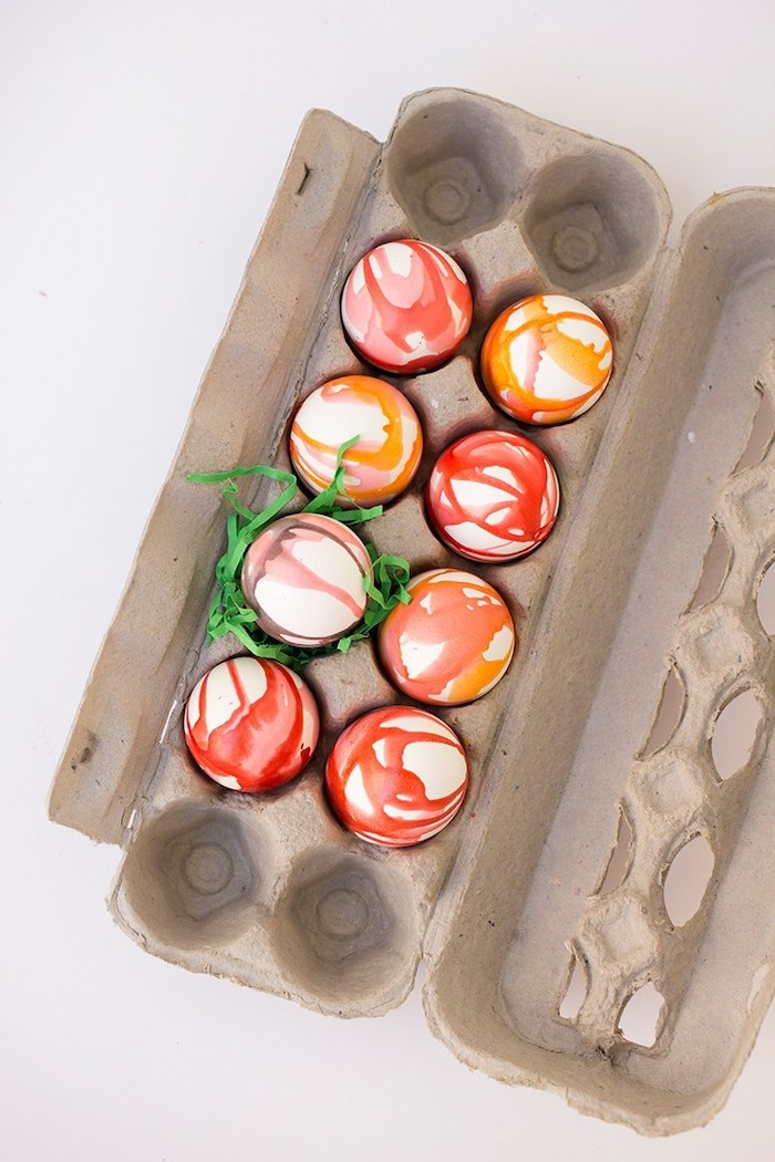 egg carton, full of colourful eggs, coloring easter eggs, kool aid eggs, step by step, diy tutorial