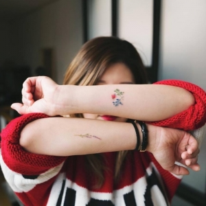 The charm of the small tattoo in 100 photos that will make you want one
