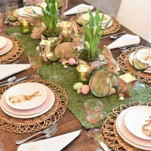Beautiful Easter table decorations - photos + easy and simple DIYs